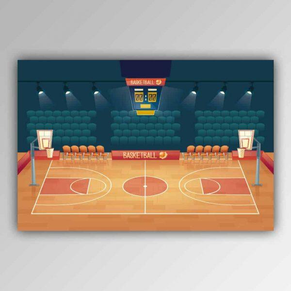 Spielhandtuch Basketball Motiv - upina.de