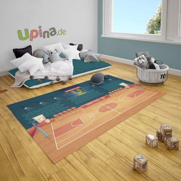Spielteppich Basketball von upina.de