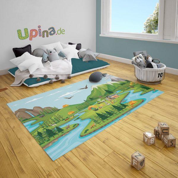 Spielteppich Camping von upina.de