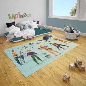 Spielteppich Handwerker von upina.de