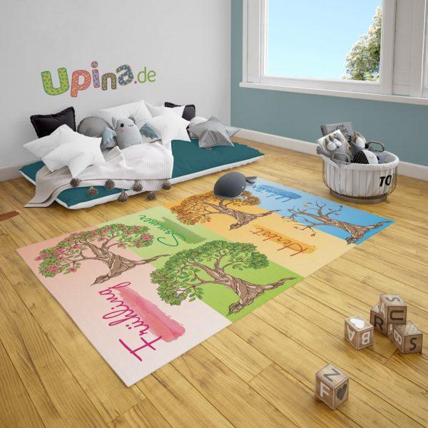 Spielteppich Jahreszeiten von upina.de