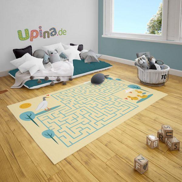 Spielteppich Labyrinth Enten von upina.de