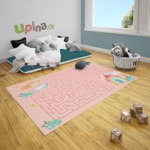 Spielteppich Labyrinth Prinzessin von upina.de