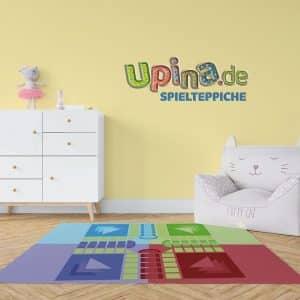 Spielbrett grün Teppich - upina.de