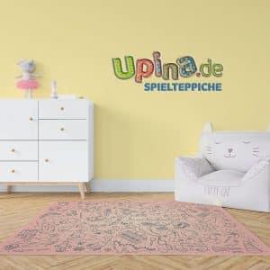 Spielzeug rosa Teppich - upina.de