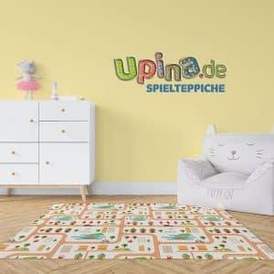 Straßen bunt Teppich - upina.de