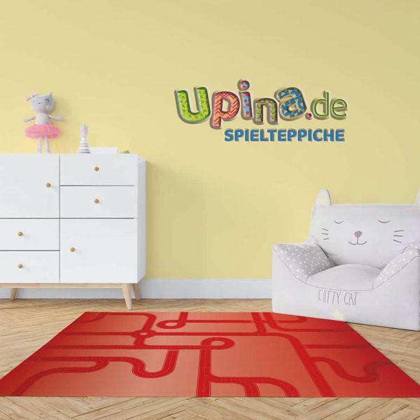 Straßen rot Teppich - upina.de
