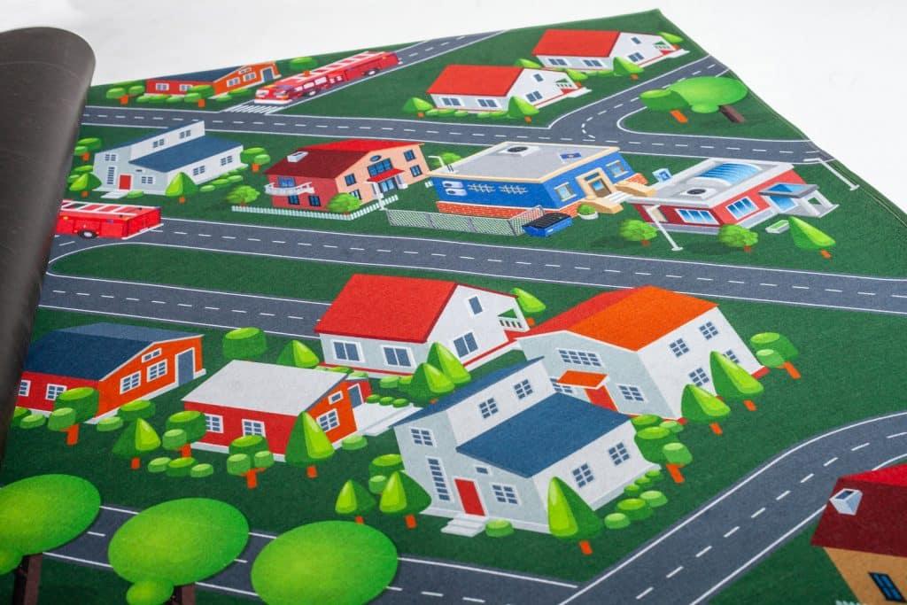 Spielteppich Detail Upina