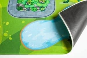 Spielteppich Rückseite Upina
